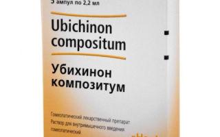 Убихинон композитум — препарат, способствующий укреплению организма, все о гомеопатии
