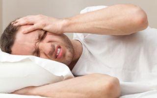Причины утренней головной боли после сна, все о гомеопатии