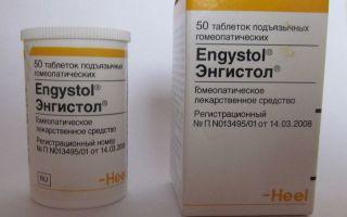 Энгистол — как правильно принимать препарат, все о гомеопатии