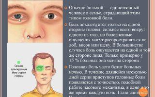 Болит половина лица и глаз — что делать и как лечить, все о гомеопатии