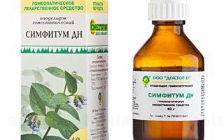 Симфитум — все о гомеопатии