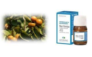 Нукс Вомика (Nux vomica) — средство на основе чилибухи, все о гомеопатии