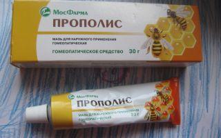 Мазь прополис — все о гомеопатии