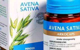 Гомеопатическое лекарство Авена сатива (Avena sativa) — все о гомеопатии