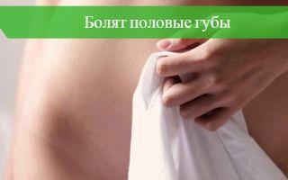Болят половые губы — воспаление (вульвит), все о гомеопатии