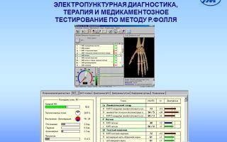 Диагностика и лечение: электропунктурная диагностика по методу фолля — все о гомеопатии