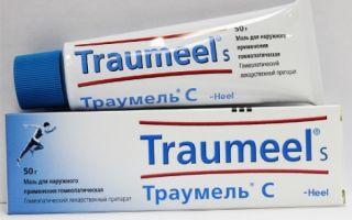 Траумель с гель — все о гомеопатии