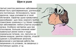 Почему в ушах возникает шум и как его лечить — все о гомеопатии