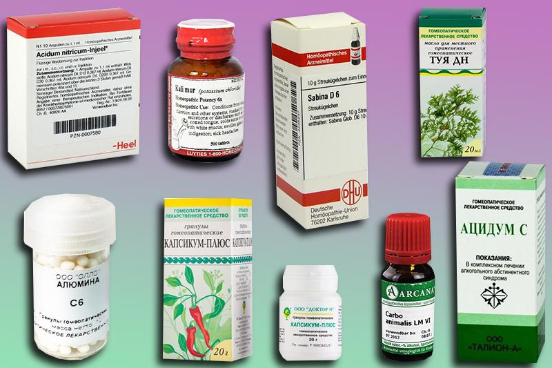 Лечение молочницы гомеопатическими препаратами