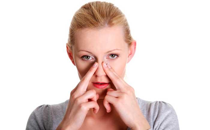 Болит голова заложен нос